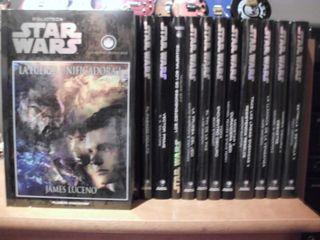 coleccion de novelas de star wars