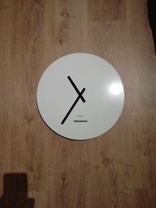 reloj pared blanco moderno