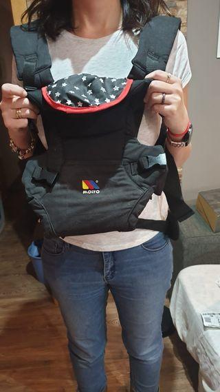 mochila porta bebés nueva