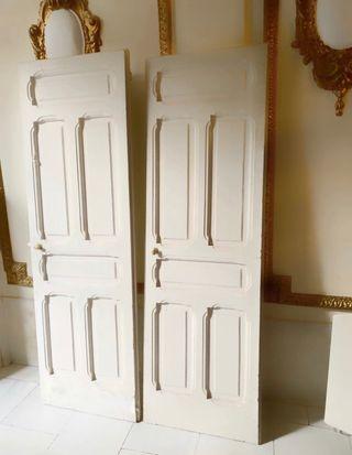 Puertas antiguas madera pino de melis