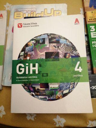 libro de geografía y historia 4to de la eso