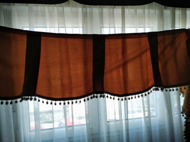 volante para cortina