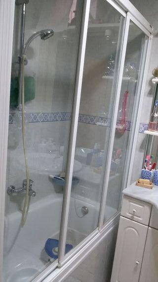 mampara para bañera de140cm