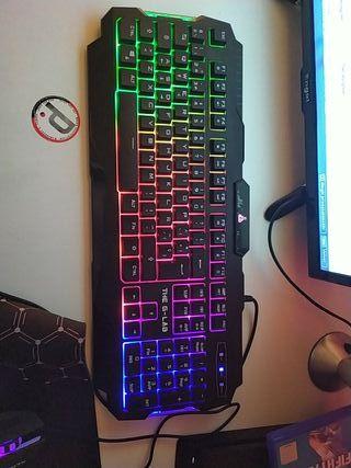 teclado y raton gaming