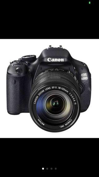 Camara Canon 600D