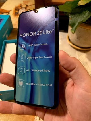 Honor 20 Lite sin usar.
