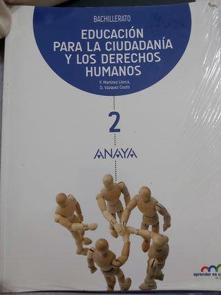 Libro Ciudadania 2° Bachillerato