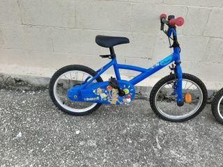 2 bicicletas niñ@