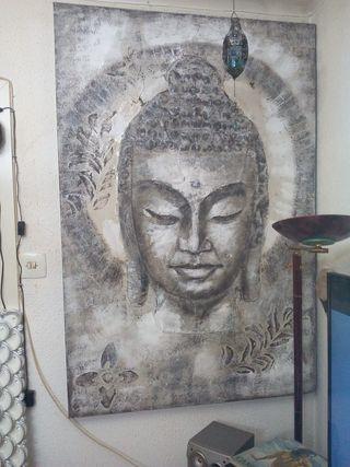 Cuadro Buda Alta Calidad NUEVO gran ocasion