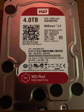 Disco duro SATA 4TB WD RED NAS