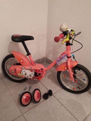 Bicicleta niña 2-5 años