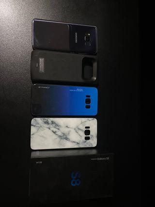 Samsung Galaxy S8 64GB + Funda Batería Recargable