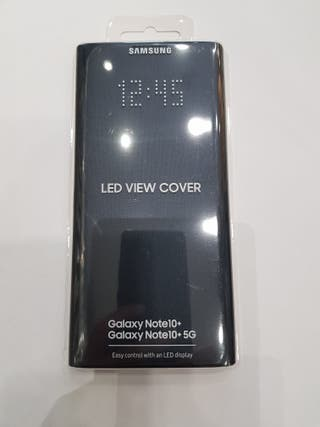 Funda Samsung Galaxy Note 10+, LED view