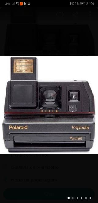 Cámara Polaroid Impulse de los años 90