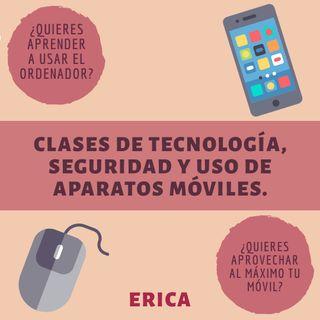 Clases de tecnología, seguridas y aparatos móviles