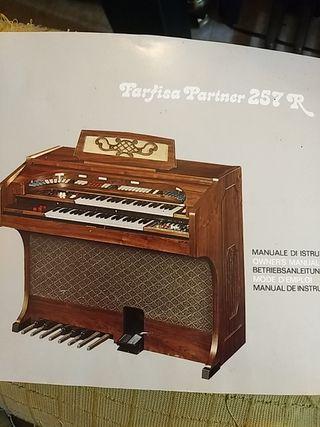MUY REBAJADO.Organo electrónico Farfisa 275R