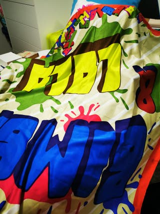 Pañuelo colorido Bimba y lola