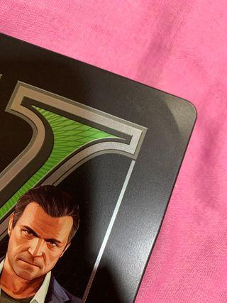 Steelbook GTA V ps3