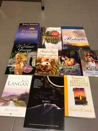 Colección 10 novelas diversos autores
