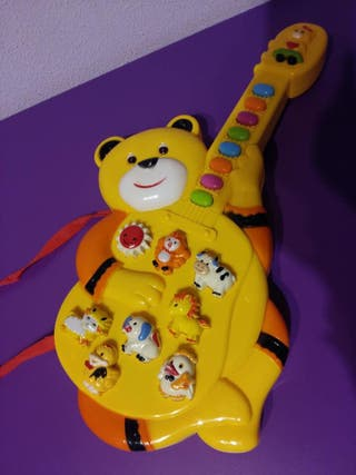 Guitarra de animales