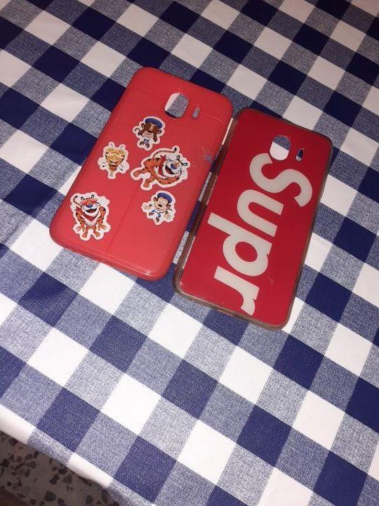 2 fundas del móvil j4