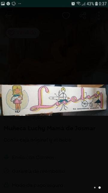 Muñeca Mamá Luchy de Jesmar