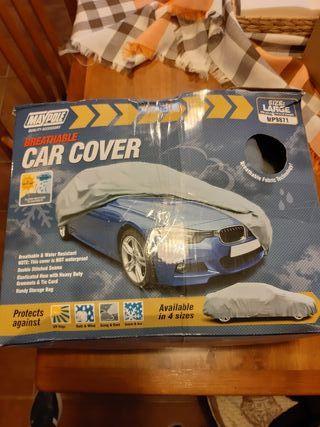 lona protectora para coche talla L