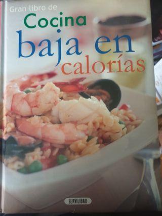 libro grande recetas bajas en calorías