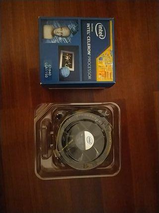 Procesador Intel Celeron + Disipador