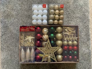 New Christmas accessories unopened!