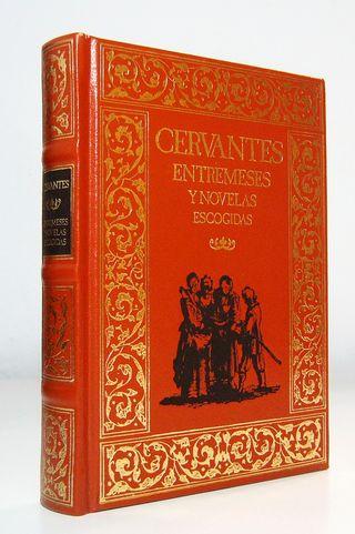 Libro Entremeses y novelas escogidas, de Cervantes