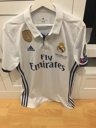 Camiseta conmemorativa Real Madrid.Final Cardiff