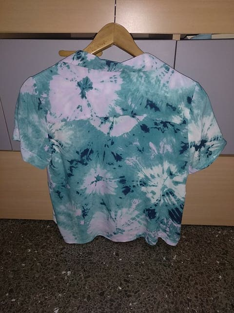 Camisa cropped S