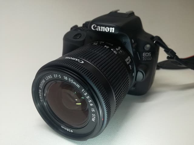 Canon 100D + Objetivo EF-S 18-55mm