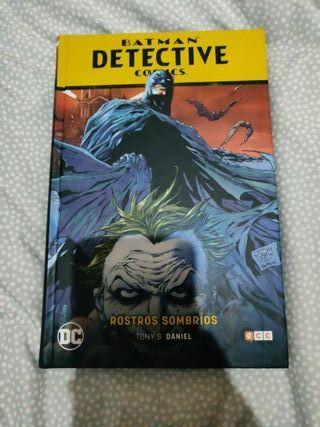 Cómic DC Batman Detective Comics Rostros Sombrios