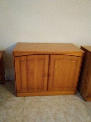 mueble de salon de madera