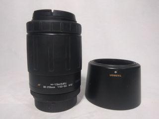 Tamron Tele zoom AF 80-210 para Nikon