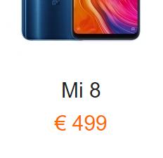Movil Xiaomi Mi8