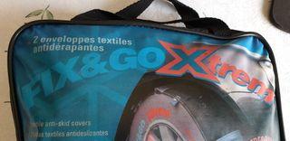 Cadenas o telas nieve turismo FIX & Go Tex NUEVAS