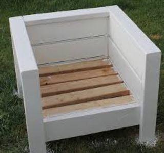 Sillon madera palets interior exterior