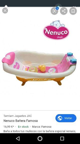 juguete, Nenuco, bañera