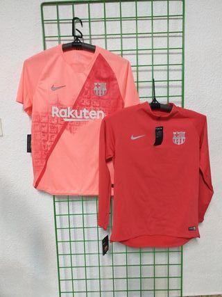 camiseta y sudadera F.C Barcelona talla L