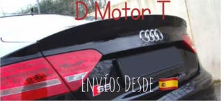 Spoiler Alerón Audi A5 Sportback 08-15 negro brill