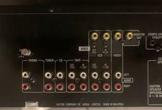 Amplificador Hifi JVC