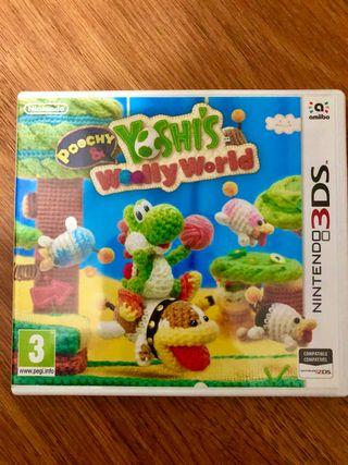 YOSHIS WOOLLY - NINTENDO 3DS