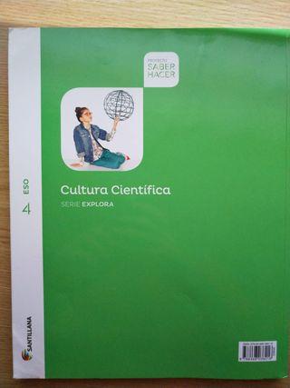 Libro Cultura Cientifica