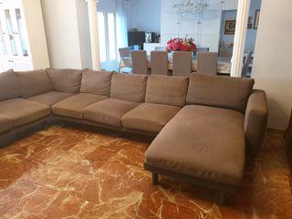 sofa ikea 6 modulos mas cheslong