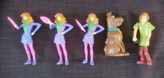 5 figuras Scooby Doo Burger King