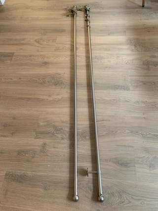 Barras de cortina 186cm