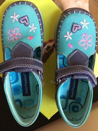 zapatos niña Hush Puppies talla 30